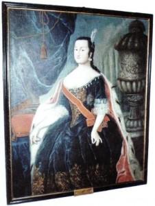 Портрет Анны Леопольдовны, Великой княгини, хранящийся в замке Мариенбург (1)