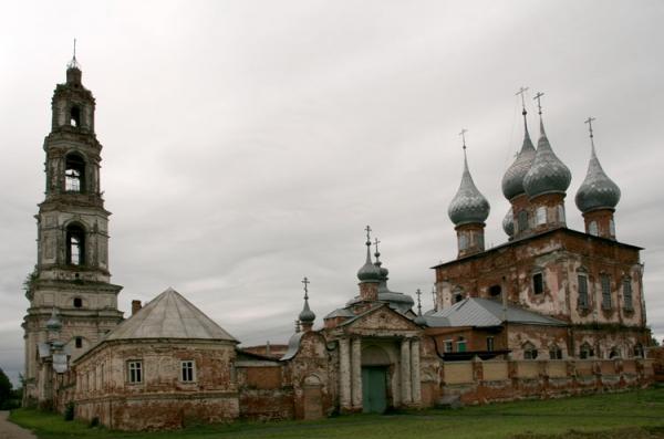 Храмовый комплекс села Васильевское